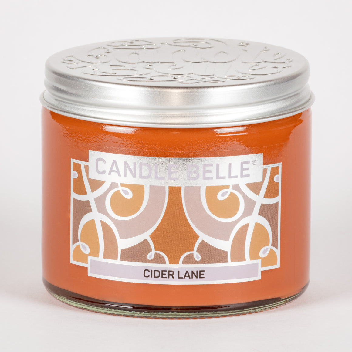 Candle Belle® Cider Lane Fragranced Twin Wick Jar Candle 240g (3 Pack)