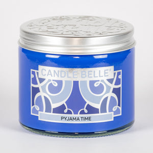 Candle Belle® Pyjama Time Fragranced Twin Wick Jar Candle 240g (3 Pack)