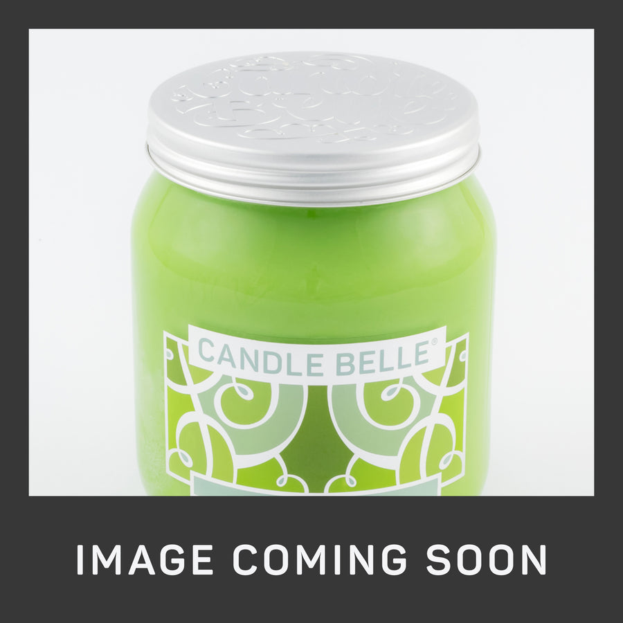 Candle Belle® DECO Mandarin Lime Basil Fragranced Single Wick Jar Candle 280g (3 Pack)