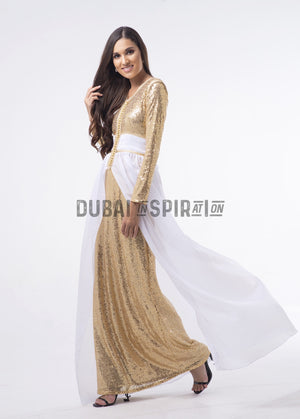Dounia ( Gold / White )