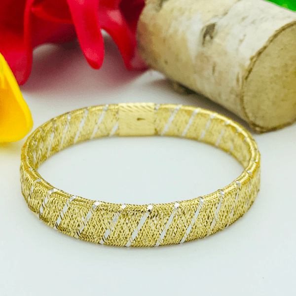 Real Gold Elastic 2 Color Band 2020-A