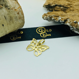 Real Gold Butterfly Necklace 005 - 18K Gold Jewelry
