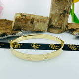 Real Gold CR Bangle Yellow 2020-M - 18K Gold Jewelry