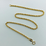 Real Gold Rope Anklet 2020