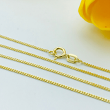 Real Gold Chain (50 C.M) B-1387 - 18k Gold Jewelry