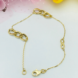 Real Gold Bracelet 3016 - 18K Gold Jewelry
