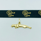 Real Gold Tiger Pendant 2020