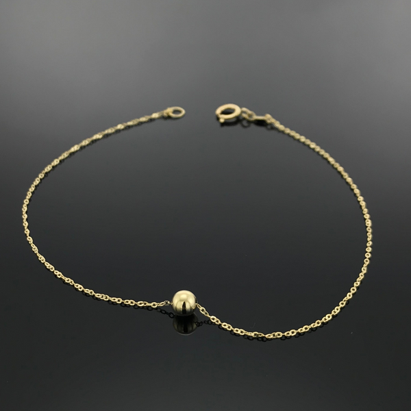 Gold Small Seed Bracelet