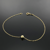 Real Gold Small Seed Bracelet - 18k Gold Jewelry