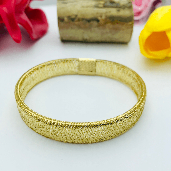 Real Gold Elastic Yellow Band 2020-B