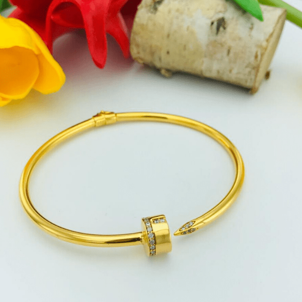 Real Gold CR Bangle 2020-3