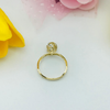 Real Gold 3C Ring 2020-A (SIZE 6)