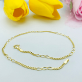 Real Gold Anklet 2020 - 18K Gold Jewelry