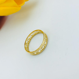Real Gold MH Ring 2020-A (SIZE 6) - 18K Gold Jewelry