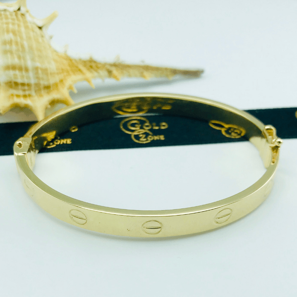 Real Gold CR Bangle BA1134