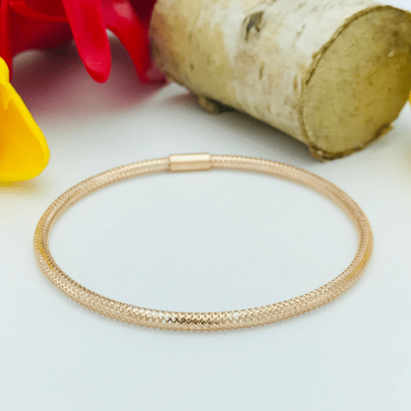 Real Gold Elastic Band Rose Gold 2020