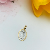 Real Gold 2 Color CH Pendant