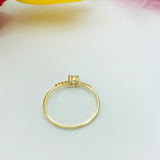 Real Gold Ring 2020-102 (SIZE 7) - 18K Gold Jewelry