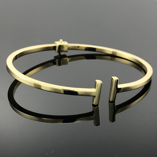 Real Gold Bangle GZBL26