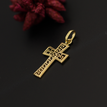 Real Gold MH Cross Pendant 2020
