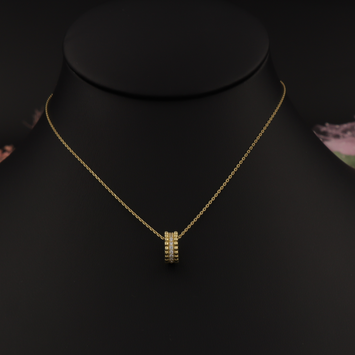 Real Gold CR Necklace