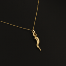 Real Gold Horn Necklace 2020 - 18K Gold Jewelry