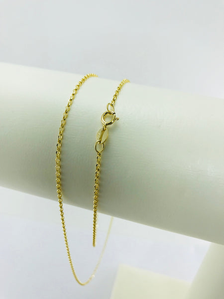 Real Gold Roller Chain (50 C.M)