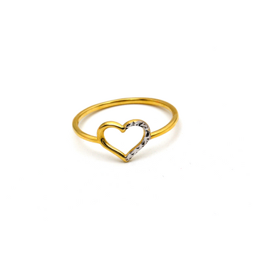 Real Gold Heart Ring (SIZE 7) R1600