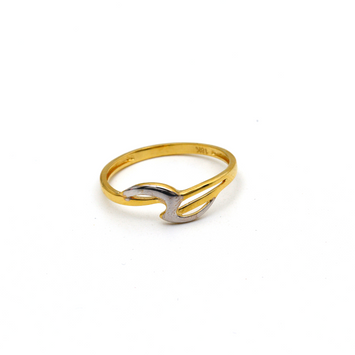 Real Gold 2 Color Ring (SIZE 7) R1601