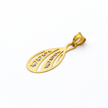 Real Gold 2C MH Drop GZP 007 Pendant 2020 - 18K Gold Jewelry