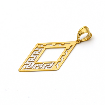 Real Gold 2C MH GZP 009 Pendant 2020 - 18K Gold Jewelry