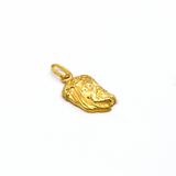 Real Gold Jesus Face Pendant 2020 - 18K Gold Jewelry