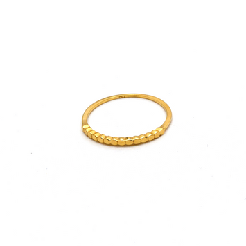Real Gold Bubble CR Ring (SIZE 7) R1615