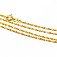 Real Gold Chain (45 C.M) 0821 - 18K Gold Jewelry