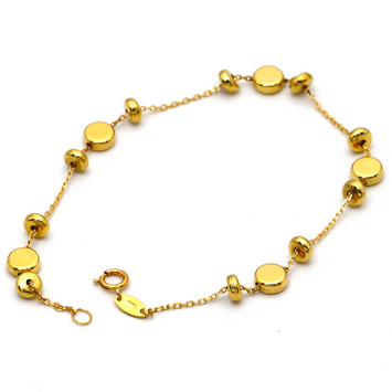 Real Gold Bracelet 3118 - 18K Gold Jewelry