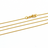 Real Gold Chain (50 C.M) 0179 - 18K Gold Jewelry