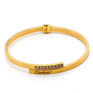 Real Gold CR Bangle (SIZE 15-16) BA1212