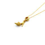 Real Gold Heel Necklace 0591 CWP 1681