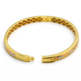 Real Gold GZ Bangle 2021 (SIZE 19) BA1160 - 18K Gold Jewelry