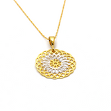 Real Gold 2 Color Expo 5967 Necklace CWP 1649 - 18K Gold Jewelry