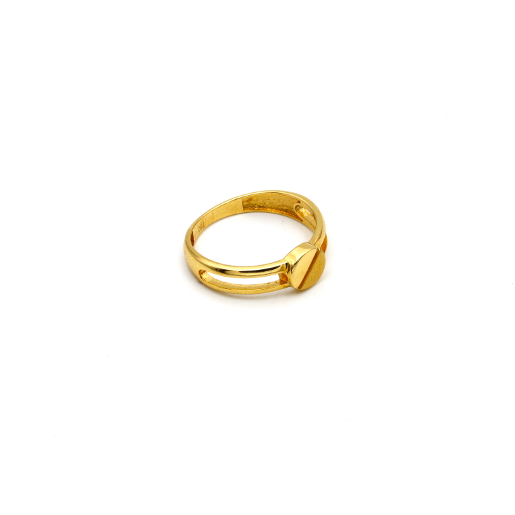 Real Gold CR Nail Ring (SIZE 7) 2021 R1381