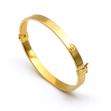 Real Gold CR Bangle (SIZE 19) BA1172
