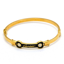 Real Gold CR Bangle 2021 (SIZE 17) BA1175 - 18K Gold Jewelry