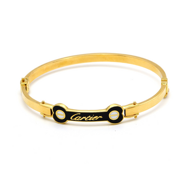 Real Gold CR Bangle 2021 (SIZE 17) BA1175