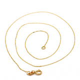 Real Gold GZ Thin Choker Chain Necklace 2021 (40 C.M) CH1069