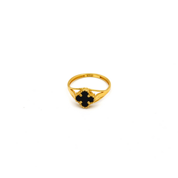 Real Gold VC Black Ring (SIZE 7.5) R1384