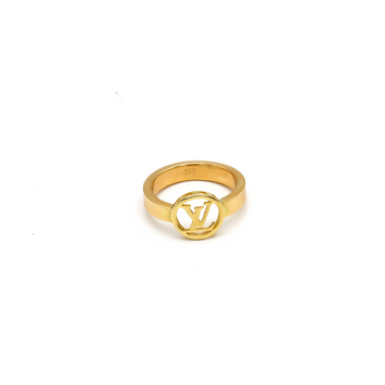 Real Gold LV Ring (SIZE 7.5) R1427