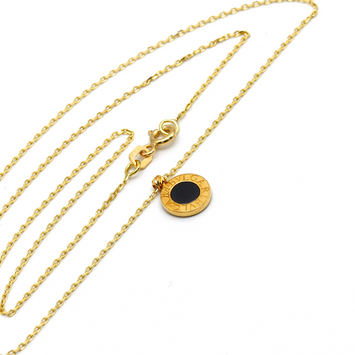 Real Gold BV Single Necklace N1140