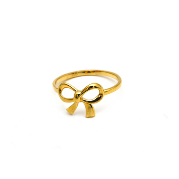 Real Gold Infinity flower Ring 6342 (SIZE 7) R1660