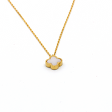 Real Gold VC Pearl Necklace N1150